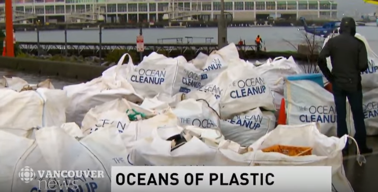 60 bags of ocean garbage brought to docks in Vancouver